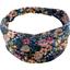 Headscarf headband- Baby size pink blue dalhia - PPMC