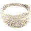 Headscarf headband- Baby size pastel drops - PPMC