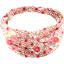 Turbantes para bebé flores origamis - PPMC