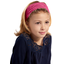Headscarf headband- child size fuschia