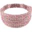 Headscarf headband- child size pink jasmine - PPMC