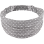 Headscarf headband- child size light grey spots - PPMC