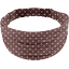 Headscarf headband- child size brown spots - PPMC
