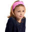 Headscarf headband- child size pink spots