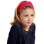 Headscarf headband- child size red spots