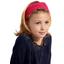 Turbantes para niña lunares rojos