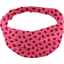 Headscarf headband- child size ladybird gingham - PPMC