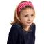 Headscarf headband- child size ladybird gingham