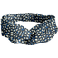 Bandeau croisé  eclats bleu nuit - PPMC