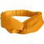 crossed headband gaze dentelle ocre - PPMC