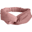 crossed headband dusty pink lurex gauze - PPMC
