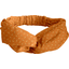 crossed headband caramel golden straw - PPMC