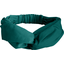 crossed headband emerald green - PPMC