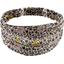 Headscarf headband- Adult size ochre flower - PPMC