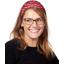 Headscarf headband- Adult size paprika petal