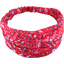 Headscarf headband- Baby size cherry cornflower - PPMC