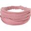 Headscarf headband- Baby size dusty pink lurex gauze - PPMC