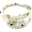 Headscarf headband- Baby size water green rabbit - PPMC