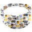 Headscarf headband- Baby size yellow sheep