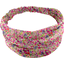 Headscarf headband- Baby size purple meadow