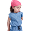 Headscarf headband- Baby size rose pailleté