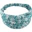 Headscarf headband- Baby size celadon violette - PPMC