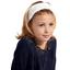 Headscarf headband- child size white sequined