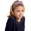 Headscarf headband- child size poppy