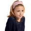 Bandeau fichu Enfant jasmin rose