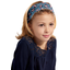Headscarf headband- child size flowered night