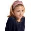 Turbantes para niña pradera púrpura