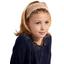 Bandeau fichu Enfant rayure bronze cuivrée