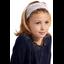 Turbantes para niña triangle cuivré gris