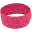 Stretch jersey headband  fleur coeur rose - PPMC