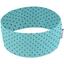 Turbantes elasticos menthe pois noir - PPMC