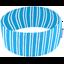 Stretch jersey headband  rayé ciel - PPMC