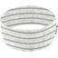 Stretch jersey headband    rayure grise pailleté - PPMC