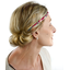 Plait hairband-adult size ruby cherry tree