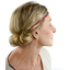 Plait hairband-adult size ruby dragonfly