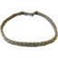 Plait hairband-adult size gold linen - PPMC