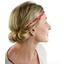 Plait hairband-adult size paprika petal