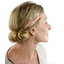 Plait hairband-adult size triangle or poudré