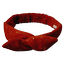 Wire headband retro gauze terra cotta - PPMC