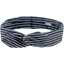 Wire headband retro striped silver dark blue - PPMC