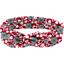 Cinta vintage cerezo rubí