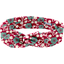 Bandeau vintage cerisier rubis jade - PPMC