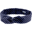 Wire headband retro navy blue spots - PPMC