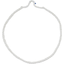 Plait hairband-adult size white sequined - PPMC