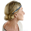 Plait hairband-adult size light denim