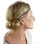 Plait hairband-adult size plum
